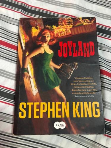Livro Joyland / Stephen King / Best-seller / New York Times