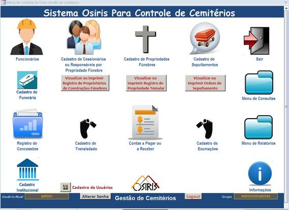 Sistema Para Gestão E Controle De Cemitérios