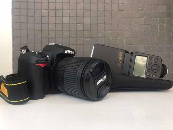 Nikon D7000 Menos De 10k Clicks + Lente 18-105mm