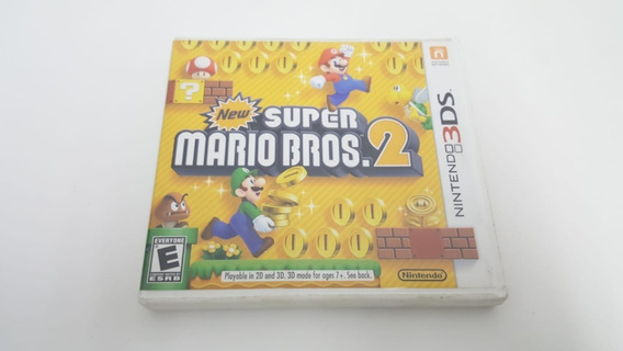 Jogo New Super Mario Bros 2 - Nintendo 3ds - Original