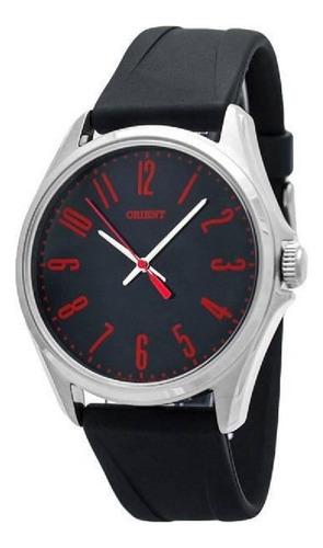 Reloj Orient Fondo Negro Con Numeros Rojos Fqc0s00cb0