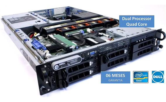 Servidor Rack 2u Dell Poweredge 2950 Dual Proc 16gb Hd 900gb