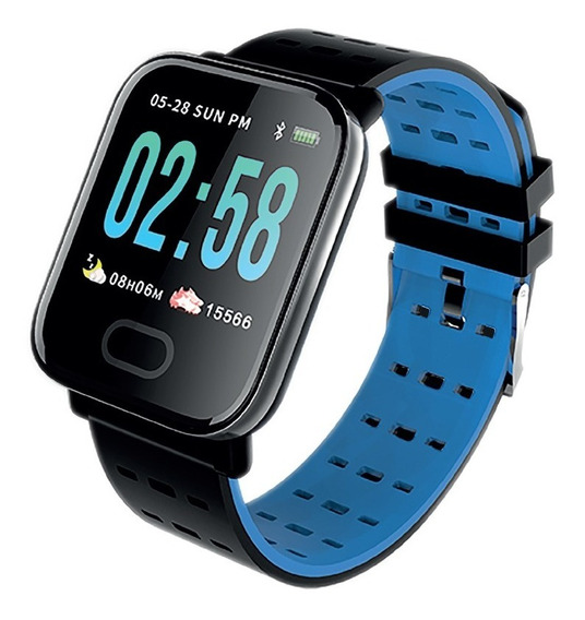 Reloj Inteligente Smart Watch Recargable Blue Link 180 Mah