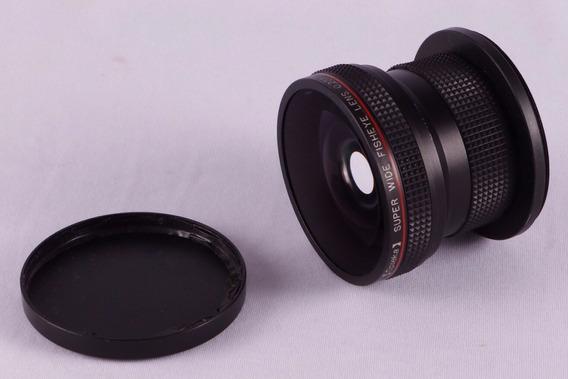 Lente Olho De Peixe Para Nikon - Opteka 0,20x