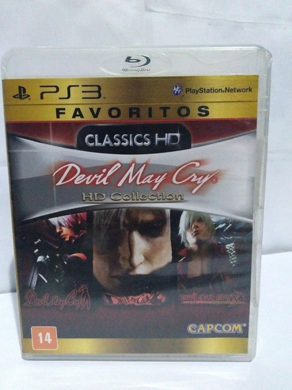 Jogo Devil May Cry Hd Collection Ps3 Mídia Fisica R$59,90