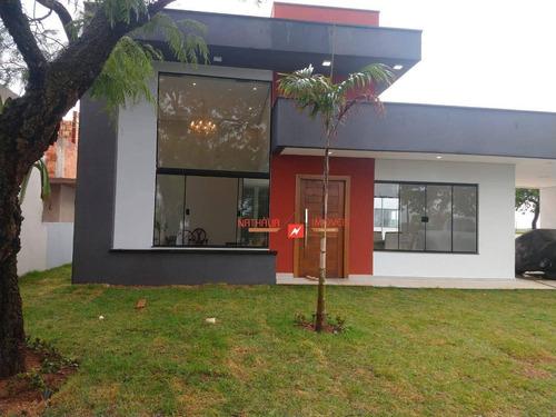 Casa Com 3 Dormitórios À Venda, 400 M² Por R$ 750.000,00 - Terras De Santa Cristina Iii - Itaí/sp - Ca0487