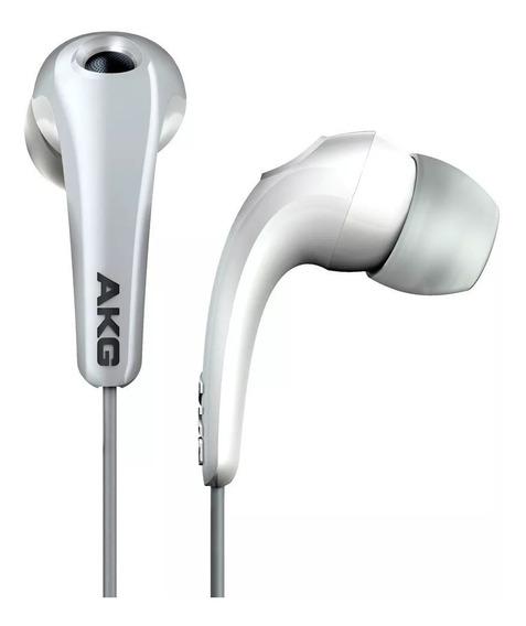 Fone De Ouvidos Akg Branco K321 Intra Auricular + Bolsa
