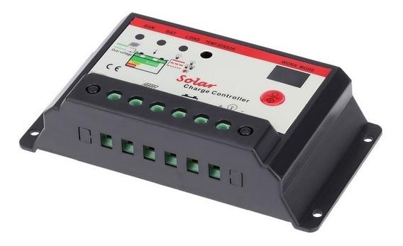 Controlador De Carga Solar Lcd Pwm 20a 12-24v | Automatico