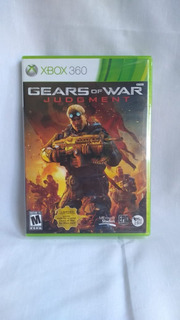 Gears Of War Judgment - Nuevo Y Sellado - Xbox 360