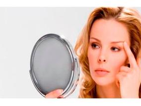 Duplo Espelho Maquiagem Ótica Zoom Penteadeira Atacado Salão