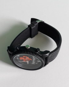 01 Relógio De Pulso E De Muito Estilo Preto Masculino!