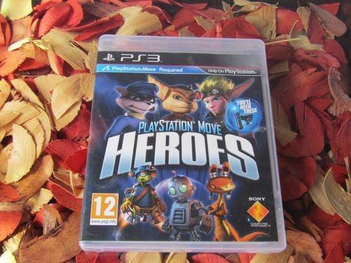 Playstation Move Heroes - Mídia Física Ps3