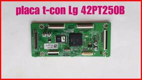 Placa T-con Tv Lg 42pt250b,semi Nova,testada