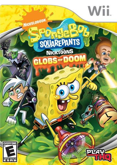 Nickelodeon Spongebob Squarepants Feat. Globs Of Doom