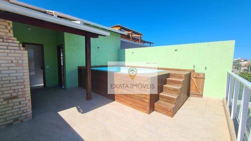 Casa Triplex 3 Suítes, Piscina/churrasqueira, Jardim Marilea/ Rio Das Ostras! - Ca0961
