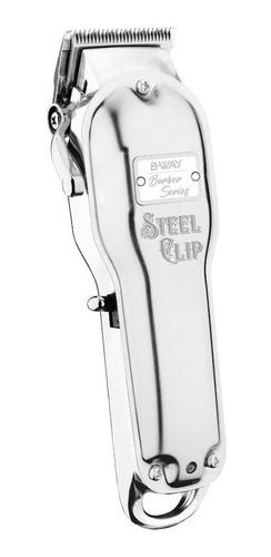 Imagen 1 de 3 de Cortadora de pelo B-Way Steel Clip 100V/240V