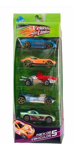 Autos Metal Set X 5 Autitos El Duende Azul New 6234 Bigshop