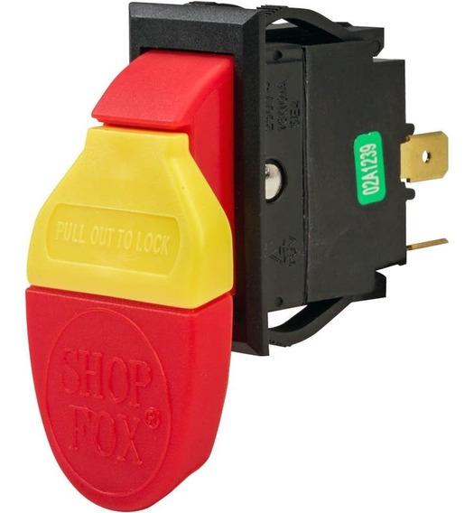 Interruptor Para Maquinaria 110/250 V 16/10 A Shopfox D2751