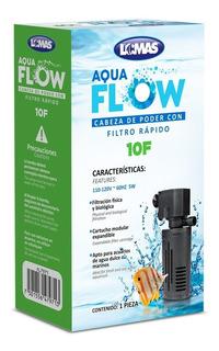 Cabeza De Poder/filtro Rapido Aqua-flow 10