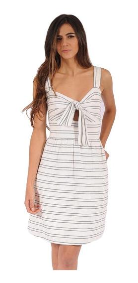 Vestido Philippe Color Siete Para Mujer - Blanco