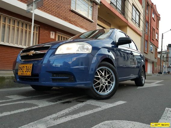 Chevrolet Aveo Emotion 1.6 Sedan Fe A.a M.t