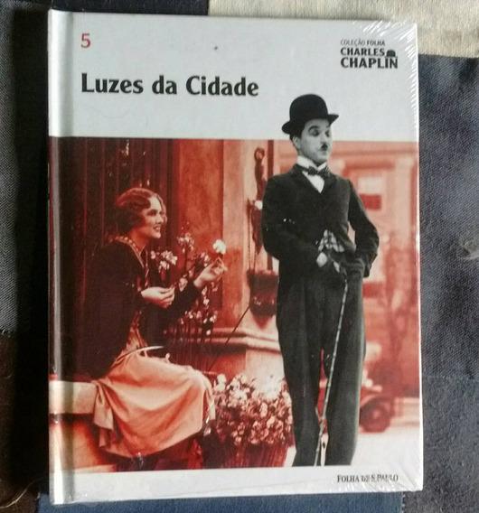 Dvd Luzes Da Cidade Coleção Folha Charles Chaplin 5 Novo!