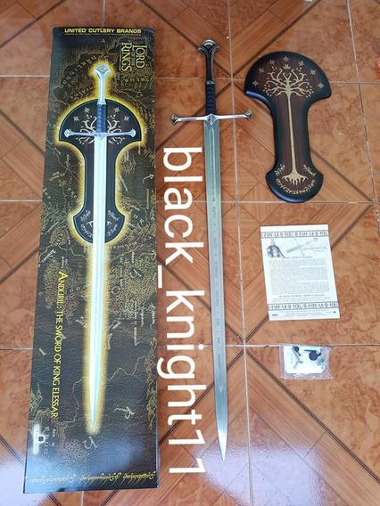 Espada De Aragorn Anduril United Cutlery Original Nueva
