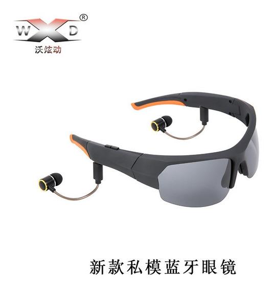 Preto X18 Bluetooth Headset Conversação Música Olho Polariza
