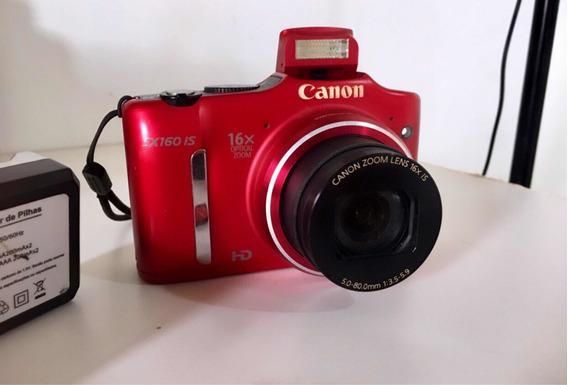 Câmera Canon Vermelha Red