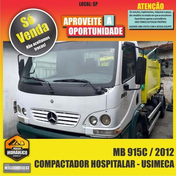 Mb 915c / 2012 - Compactador Hospitalar Usimeca