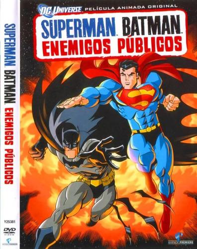 Imagen 1 de 1 de Dvd Superman V/s Batman - Enemigos Publicos