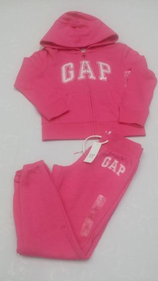 Conj Gap Chamarra Y Pantalon Niña Talla 6 8 10 12 14 Nuevo