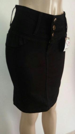 Saias Jeans Evangélica Kit Atacado 10 Pc
