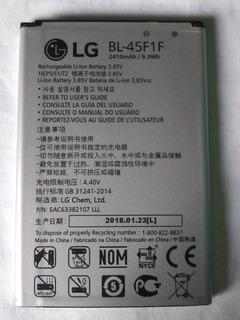Batería Lg Modelo Bl-45f1f De 2410 Mha