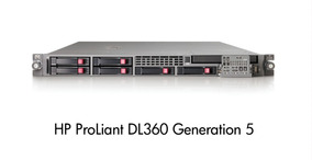 Hp Proliant Dl360 G5 Intel Quad Core 16gb Ram Hd Sata