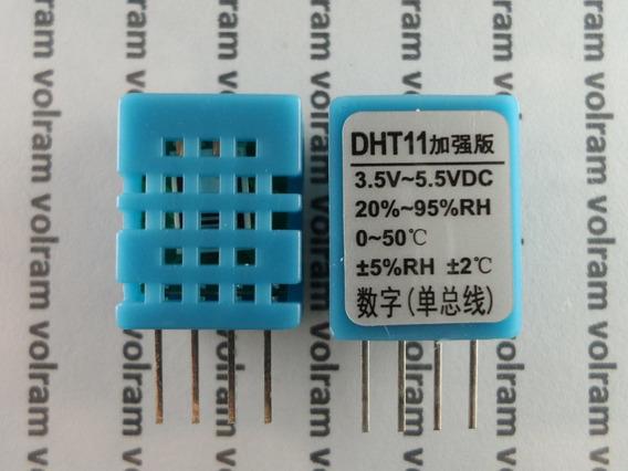 Sensor Umidade E Temperatura - Arduino Pic Dth-11 Dth11