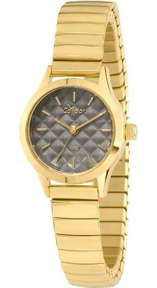 Relógio Condor Feminino Dourado Pequeno Co2036koa/4c