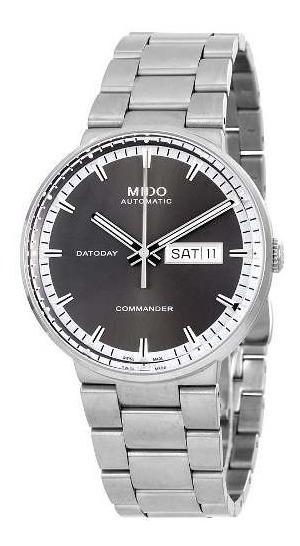 Relogio Mido M0144301106180 Commander Ii Automatico Preto