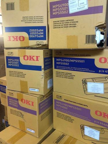 Imagen 1 de 3 de Toner Oki  Mps4900 / Mps5501 / Mps5502 Original Caja Dañada