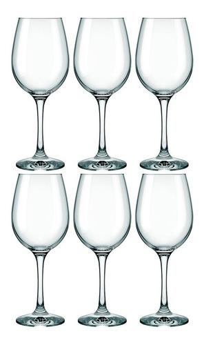 Imagen 1 de 4 de Copa Vidrio Vino Tinto Barone 385 Ml. Kit X 6
