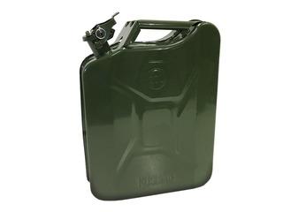Bidon Para Combustible Chapa 20 Lts Con Pico Vertedor Kushir