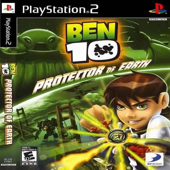 Ben 10 Protector Of Earth Ps2 Desbloqueado Patch