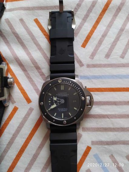 Relógio Panerai Automático Titânio