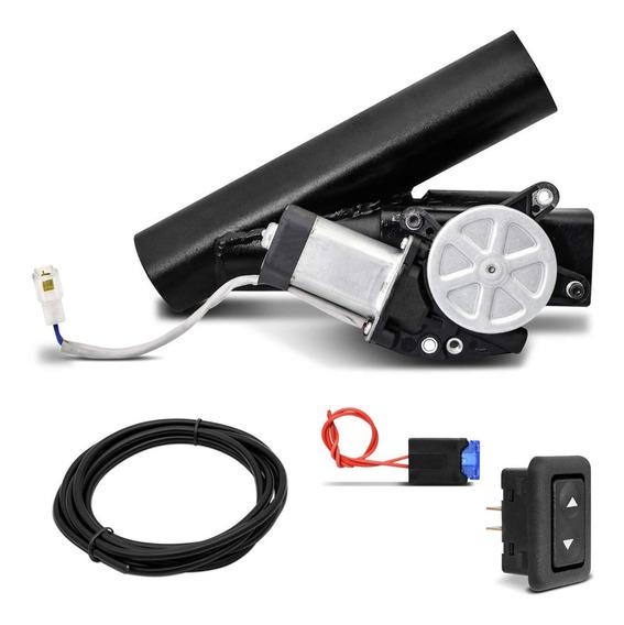 Difusor De Escape Eletrônico Universal 3 Pol Com Botão Aço
