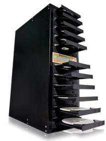 Gravadora Torre De Dvd E Cd Semi Novo 12 Baias