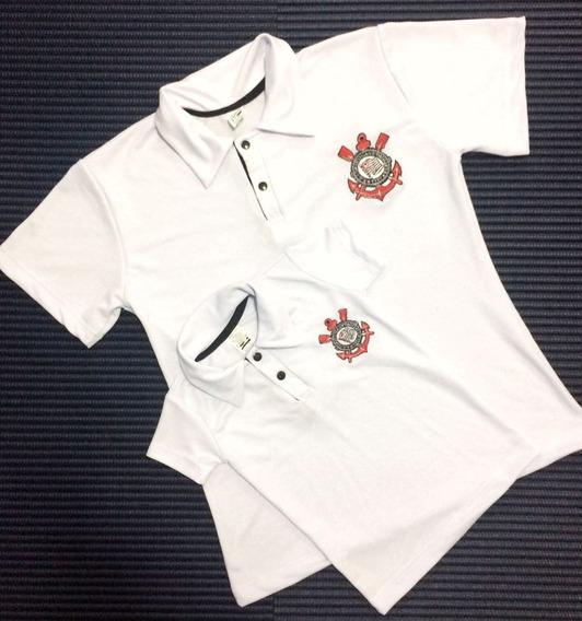 Kit 2 Camisas Polos Tal Pai Tal Filho Times De Futebol