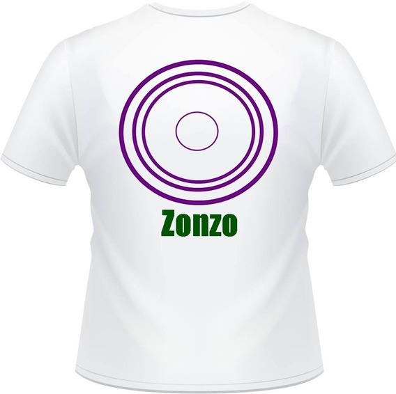 Camiseta Zonzo / Camiseta Em Poliéster