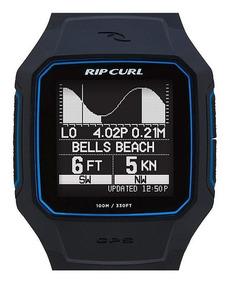 Relógio Ripcurl Search Gps 2 A1144 Preto Azul Trestles Tábua