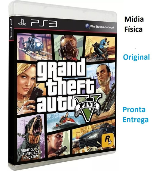 Gta 5 Ps3 Original (em Cd) Pronta Entrega Despachamos Rápido
