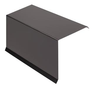 Zingueria Babeta L Cierre Lateral Color Negro 20x20 Cm 1,22